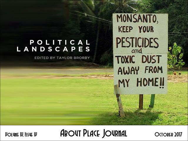 About Place Journal - Political Landscapes cover