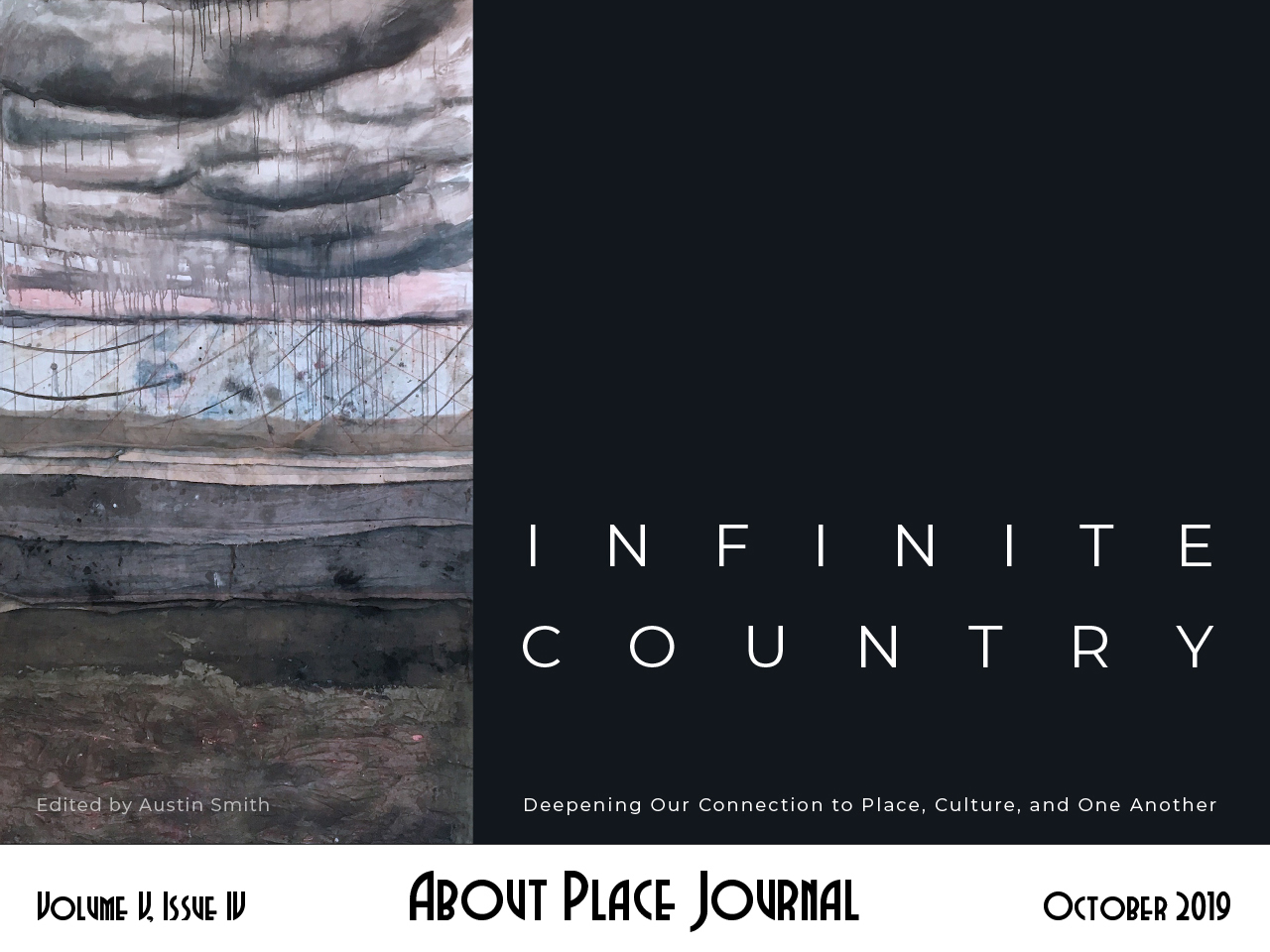 About Place Journal: Infinite Country cover