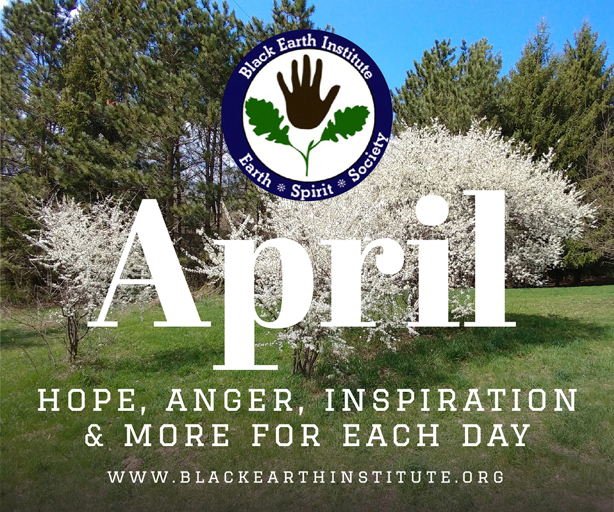 April: Hope, Anger, Inspiration & More for each day