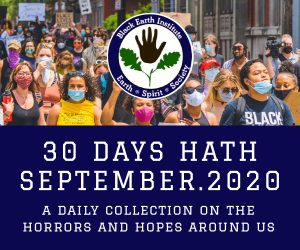 30 Days Hath September.2020 – A daily collection on the horrors and hopes around us