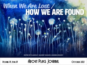 About Place Journal - When We Are Lost / How We Are Found cover